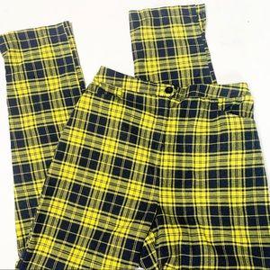 LF Seek the Label Plaid Pants (S)